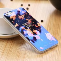 Prismatic Holographic Blue Ray iPhone Case