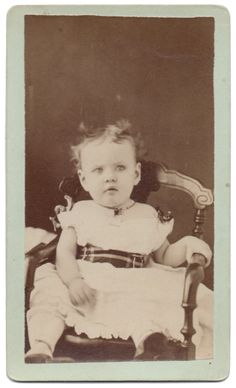 Adorable Antique Victorian Girl Studio CDV by VintageToAntiquity