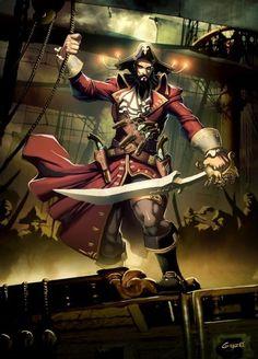 Os 7 piratas mais famosos da História mundial - Mega Curioso