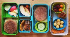 #lunchbox #bento #monbento #healthy #yummy #snack #school #kindergarten #minimuffins
