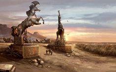 Le meravigliose immagini di concept art di Kimberley Pope- Il sito ufficiale di Kimberley Pope
