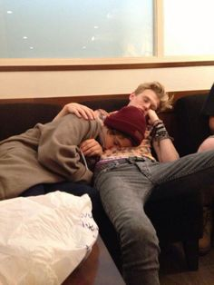 Jordan and Finnegan being cute but also kinda gay, so I'm pretty scared - taken by Shona Wilkes