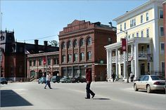 St. Johnsbury, Vermont (born there and lived there for a dozen years)