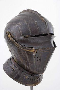 Maximilian Gilded and Blackened cavalry helmet