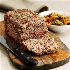 German Meatloaf...has ham, beef, pork, pickles, mustard... (1) From: Delicious Magazine, please visit