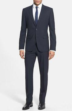 Nordstrom  HUGO 'Aeron/Hamen' Extra Trim Fit Stretch Wool Suit