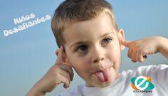 Niños desafiantes y desobedientes. ¿Por qué son desafiantes y desobedientes?