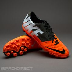 pretty nice a5ad7 374dd Nike Football Boots - Nike Bomba Finale II - Fives - Soccer Cleats - Total  Orange-White-Sequoia