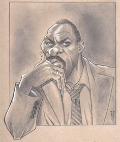 Idris Elba... by Theo.