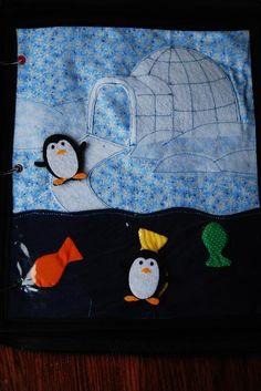 penguins and igloo