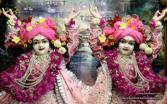 To view Nitai Gaurachandra Close Up Wallpaper of ISKCON Chowpatty in difference sizes visit - http://harekrishnawallpapers.com/sri-sri-nitai-gaurachandra-close-up-wallpaper-019/