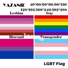 LGBT GAY PRIDE FLAGS 5F X 3F RAINBOW DESIGNS BISEXUAL TRANSGENDER PANSEXUAL FLAG