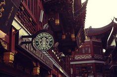 starbucks in shanghai | Places | Pinterest