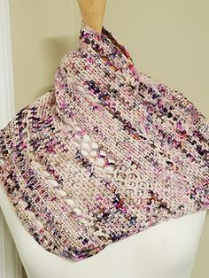 Ravelry: Hugs & F*#ks Cowl pattern by Kim Simpson