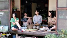 Haruka Ayase in the film 'Umimachi Diary' ('Our Little Sister') Our Little Sister, Little Sisters, Sisters Movie, Candy House, Movie Shots, Castle In The Sky, Japanese Aesthetic, Cinema Movies, Film Stills