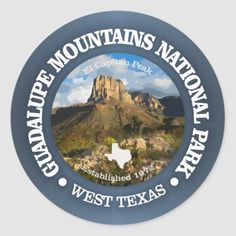 Shop Guadalupe Mountains NP Classic Round Sticker created by AdventureExtreme. Beach Camping Tips, Backyard Camping, Camping Places, Diy Camping, Camping Gifts, Camping With Kids, Outdoor Camping, Camping Gadgets, Camping Cooking