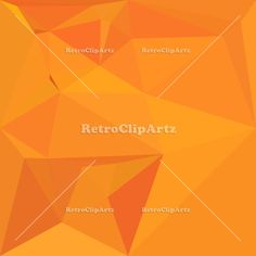 Goldenrod Yellow Abstract Low Polygon Background Vector Stock Illustration. polygon style illustration of a goldenrod yellow abstract geometric background. #illustration  #GoldenrodYellowAbstract