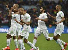 Felices marcador final Argelia 4 - 2 Corea del Sur.
