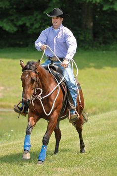 Clinton Anderson helps our reader calm and steady her mare when she acts up on the trail.