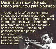 Renato Russo e o amor