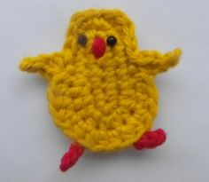 EASTER APPLIQUES – CHICK TUTORIAL