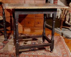 18th century New England tavern table