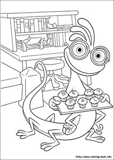 Monsters Inc Online Coloring Pages Printable Book For Kids 23