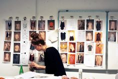 School of Form Fashion Show 2013 backstage #schoolofform fot. Hanna Krasocka