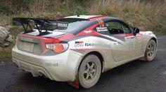 Toyota gt86 rally car!!