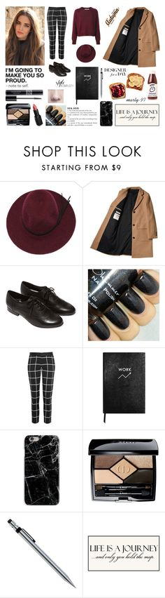 Designer for a Day! by marty-97 on Polyvore featuring moda, Joseph, L.L.Bean, Christian Dior, Sloane Stationery and Wet n Wild