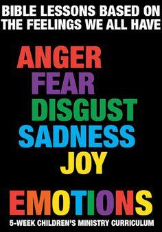 Emotions Children's Ministry Curriculum