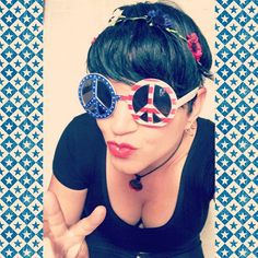 #PeAce #LoVe and #cLeAvAgE Happy 4th of July!  #fourthofjuly #july4th #comedy #comedian #funny #fun