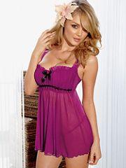 Girly, glamorous & utterly captivating! #summer #lingerie #babydoll