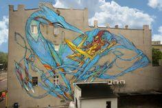 by Australian artist Shida in Lodz Poland