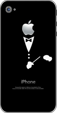 iTattoo.com: Conductor, iPhone Sticker Decals, $9.99