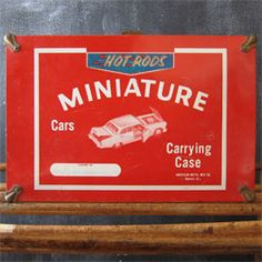Hot Rods Miniature Cars Carrying Case Miniature Cars, Hot Rods, Miniatures, Small Cars, Minis