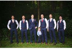 groomsmen navy - Google Search