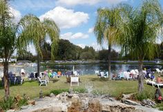 Famous Warm Mineral Springs in North Port, Florida
