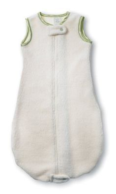 SwaddleDesigns Organic zzZipMe Sack - Fleece with Kiwi Trim (6-12 months) by SwaddleDesigns, http://www.amazon.com/dp/B004U5UDRG/ref=cm_sw_r_pi_dp_UZTOrb19P1HYX