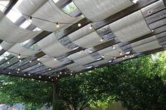 Shady Style: Patios with Pergolas Inspiration Gallery   Apartment Therapy