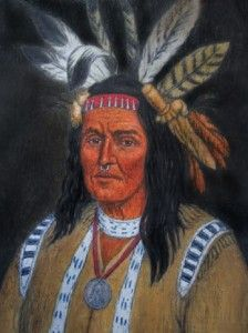 Chief Pontiac of Shawnee Indians. He was a Known Cannibal ...