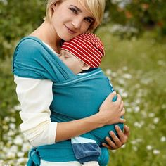 Manduca Sling - The Manduca sling is a great partner for a Manduca carrier. Made from organic cotton, this one size fits all stretchy wrap can be used for newborns and babies weighing up to 15kg (approximately 9 months). It is available in eight colours and each wrap is finished in a contrasting overlock stitch. As a long length sling (5.1 metres long and 60cm wide) this is the perfect wrap for sharing between partners and other carers. It's also an excellent accessory to go with your…