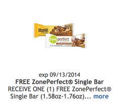 FREE ZonePerfect Bar at Kroger (8/29)