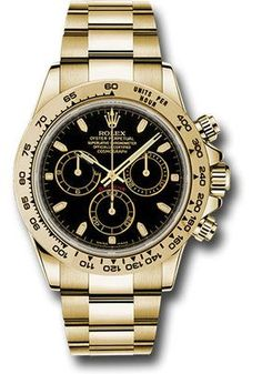 Rolex Watches: Daytona Yellow Gold - Bracelet 116508 bki