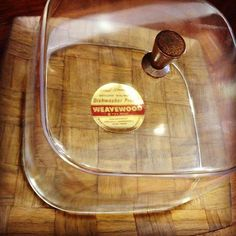 #vintagekitchen #cheesetray by #weavewood #minneapolis ~ #handwoven #genuinewalnut ~ #newoldstock with #stickertag ~ #forsale at #danishmodernsandiego in #littleitaly #ilobsterit