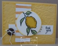 Stampin Up A Happy thing stamp set and Lotus blossom. Sale a bration