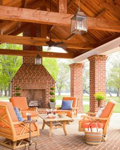 Fireplaces extend your time outdoors: You can move outside earlier in spring and stay there longer into fall. From fancy to rustic, portable to permanent, find a design to suit your home's architecture and your living style.