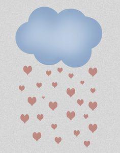 Shower Love Print11x14 by ShopLittles on Etsy, $20.00