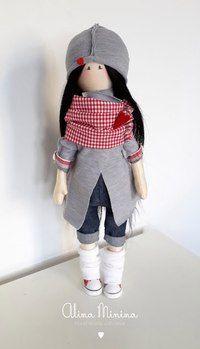 Кукла подросток. Выкройка
