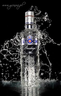 Vodka with Splashes